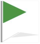 A green flag
